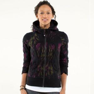 Midnight iris lululemon scuba hoodie Size 4